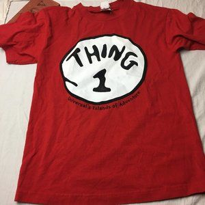 Dr Seuss Thing One Graphic Tee Universal Orlando
